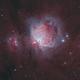 Narrowband Orion Nebula (M42),                                Victor Van Puyenb...