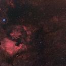 NGC7000 en grand champs (mosaique de 4 images) Get