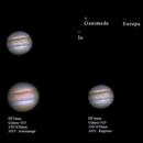 Jupiter and moons,                                SerAlbi