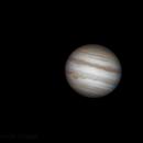 Jupiter, Io and Europa,                                Hartmuth Kintzel