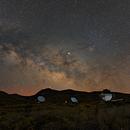 Milkyway above the Roque de los Muchachos,                                Alexander Voigt