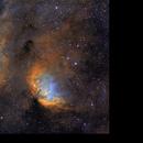 Sh 2-101 Tulip nebula... and bows,                                JNieto