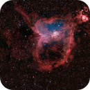 Heart and Soul Nebulae (IC1805 and IC1848),                                JOHN QUINN