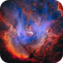 IC 2944 SHO with RGB stars (Chicken soup....),                                Ben
