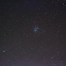 Pleiades - Comet c2014 q2,                                bbonic