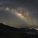 Milky Way over La Palma,                                Vincent Savioz
