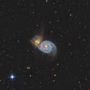 M51 - Whirlpool Galaxy,                                Yung Hsu Shih