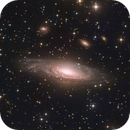 NGC7331 by Jean-Louis Tressol and Christian Hennes,                                christian.hennes