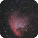 NGC281 Pacman Nebula LRGB,                                Masahiro Takahashi