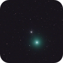 Animation of C/2014 Q2 (Lovejoy) Passing by M79 ,                                Serge Caballero