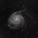 M101, The Pinwheel Galaxy,                                Mark L Mitchell