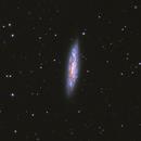 M108 vortex galaxy,                                bawind Lin