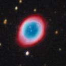 M 57 - Ring Nebula,                                Rich Sky