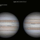 Jupiter 2012.11.08 UT 23.21,                                Alessandro Bianconi