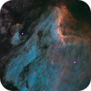 IC 5070 The Pelican Nebula in modified SHO,                                Greg Nelson