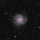M74  Phantom Galaxy  - another splendid Spiral - version Ha-LRGB,                                Arnaud Peel