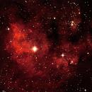 NGC 7822 Nébuleuse dans Céphée,                                Maxou034