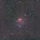 NGC 1579 - QHY600 - Esprit 150 - LRGB,                                Eric Walden