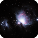 M42 Orion and Running Man Nebulas,                                Brent