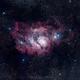 Lagoon Nebula NGC 6523,                                Carlos Taylor