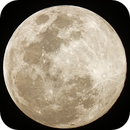 Gold Tinged May 2020 Super Moon,                                stricnine