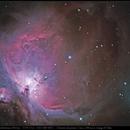M 42 - Grande nébuleuse d'Orion,                                Jeffbax Velocicaptor