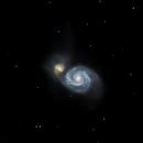 M 51 The Whirlpool Galaxy,                                Astro Jim