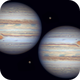 Jupiter with Ganymede 17 Jul 2020 - 16 min WinJ comp,                                Seb Lukas