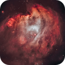 Monkey Head Nebula (NGC 2174) - NB Natural Color Study,                                Gary Lopez