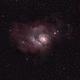 M8 Lagoon Nebula,                                Brett Alcox