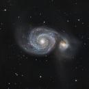 M51 Whirlpool Galaxy,                                legova