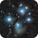 M45 - Pleiades - LRGB,                                Maniersch