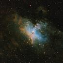 M16 Eagle Nebula - SHO,                                Drew Hastings