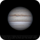 Jupiter 28 Apr 2018 13:42 UTC - North up,                                Seb Lukas