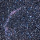 East Veil Nebula NGC 6992,                                Russell Valentine