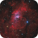 Bubble Nebula HaOIIILRGB from Les Granges.,                                Olly Penrice