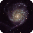 M101 Pinwheel Galaxy,                                WAskywatcher