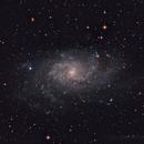 M33: Triangulum Galaxy,                                Angel Camacho