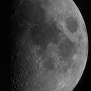 Lunar Disc, First Quarter, Lunar V & X, 08-25-2020,                                Martin (Marty) Wise