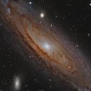 M31 Andromede,                                Sylvain Lefebvre