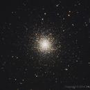 M13 - Great Cluster in Hercules,                                SmackAstro