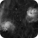 IC410 and IC 405,                                Phil Wright
