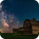Milky Way at the Old Barn,                                Alan Dyer