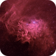 Flaming Star Nebula IC405 BiColor,                                Hartmuth Kintzel