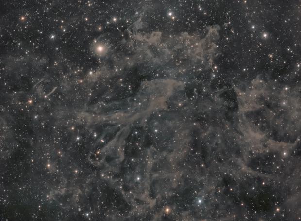 Polaris Integrated Flux Nebula,                                Tristan Campbell
