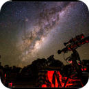 Telescope under the Milky Way at ASWA Astro Camp,                                Roger Groom