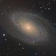 Bodes Galaxy (M81) LHaRGB - Feb/Mar 2020,                                Geof Lewis
