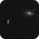 M81 and M82 (with supernova!),                                Charles Ward