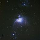 20130309_M42(Orion Nebula) and Running Man,                                Yongzhen Fan