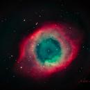 NGC 7293 Helix Nebula,                                Dale A Chamberlain
